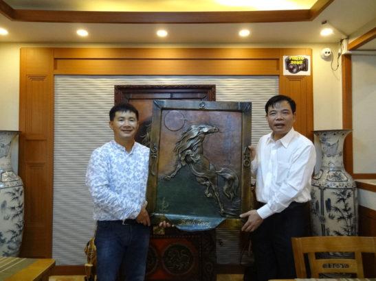 Bộ Trưởng Bộ NN & PTNT Nguyễn Xuân Cường thăm Mông Cổ