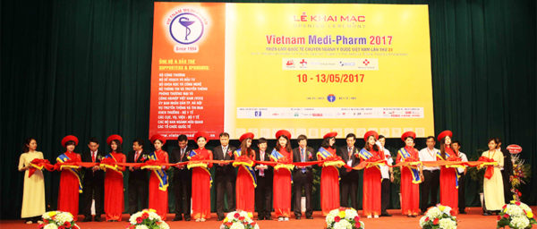 Triển lãm Y dược quốc tế lần thứ 24 tại Cung Văn hóa Hữu nghị Việt Xô