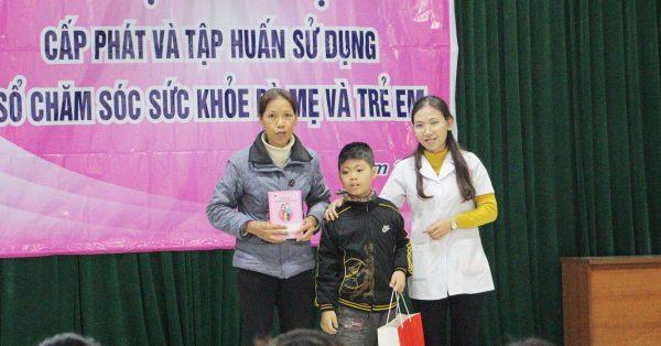 Lan tỏa yêu thương- Dược Phẩm VIMOS tặng quà các em bé mắc bệnh, có hoàn cảnh khó khăn tại Thái Nguyên