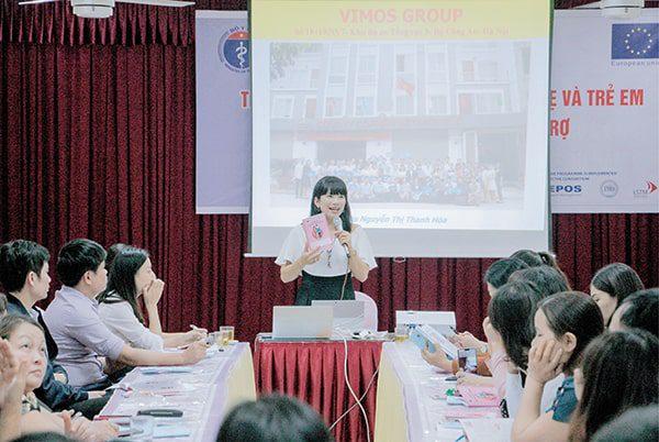 TGĐ Vimos chia sẻ về lợi ích của Sổ tại Hội nghị ở Hà Nội năm 2017