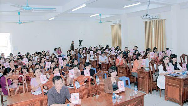 Vimos tham gia tập huấn Sổ TDSKBMTE cho Trung tâm y tế các huyện  tỉnh Thái Nguyên năm 2018