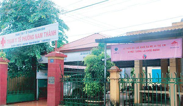 Vimos quảng bá truyền thông Sổ TDSKBMTE cho các bà mẹ tại Ninh Bình năm 2017