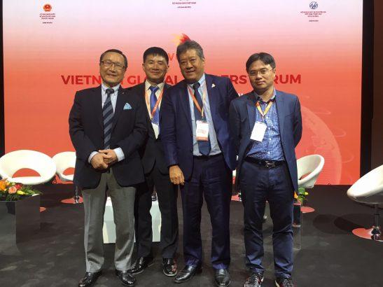 """Lãnh đạo VIMOS tham dự  """"Diễn đàn Người Việt có tầm ảnh hưởng năm 2019"""" tại Paris"""