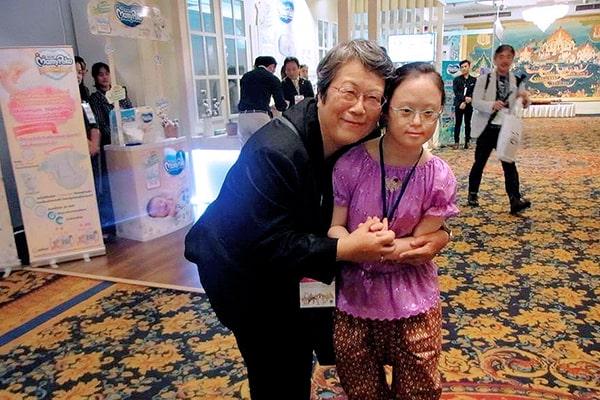 Bà Bando từng là giáo viên một ngôi trường dành cho trẻ em khuyết tật tại Kyoto của Nhật Bản