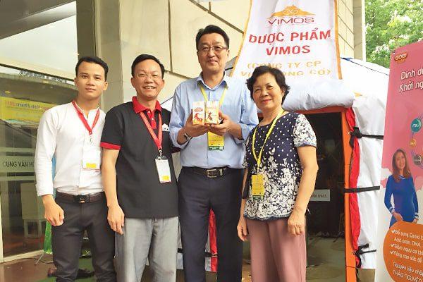 Gian hàng của Dược Phẩm VIMOS vinh dự đón Đại Sứ Quán Mông Cổ ghé thăm