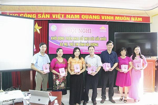 Dược Phẩm VIMOS tặng Sổ cho tỉnh Hải Dương
