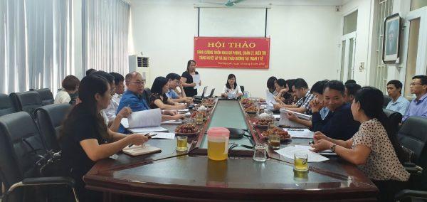 Dược phẩm VIMOS tham dự Hội thảo triển khai Chương trình Phòng chống bệnh không lây nhiễm tại tỉnh Thái Nguyên năm 2020